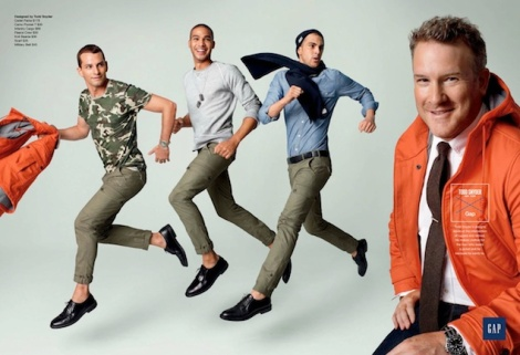 GQ for Gap Menswear Collaboration