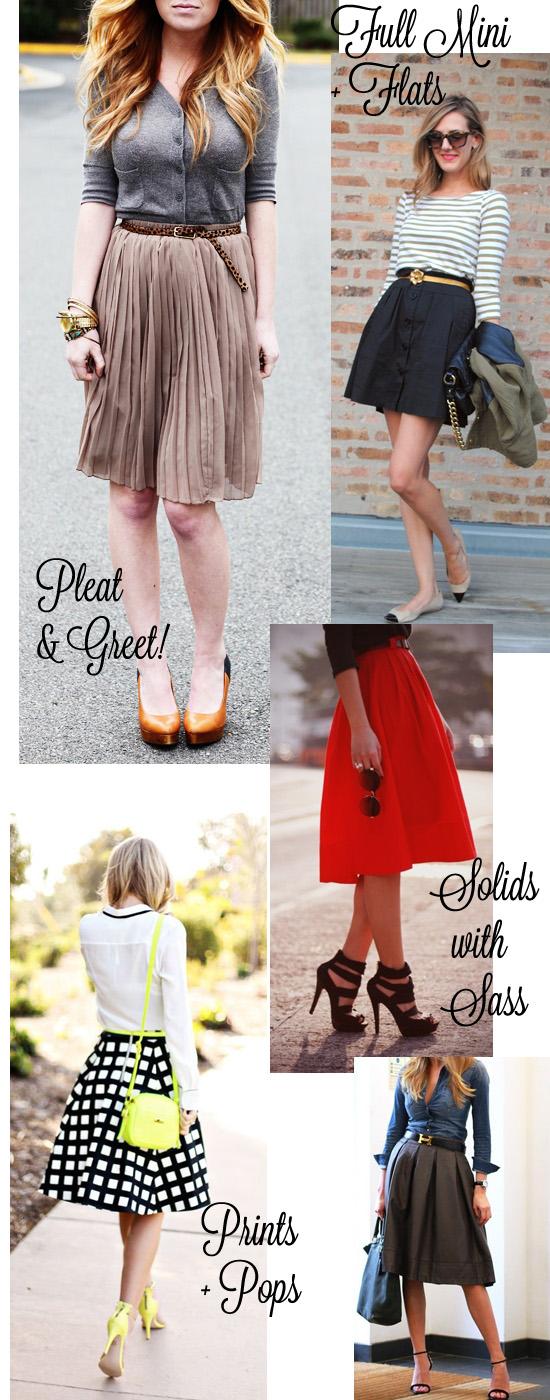 Summer Work Skirts